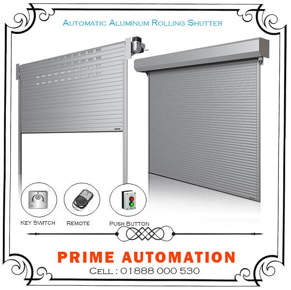 Automatic Aluminum Remote Control Roller Shutter in Bangladesh
